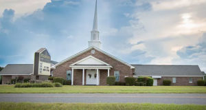 Picture of modern Mt. Calvary Baptist Church